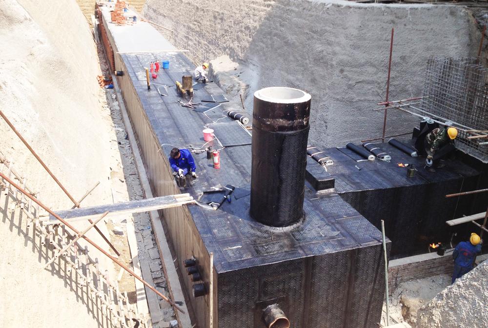 百望山地下管廊防水施工